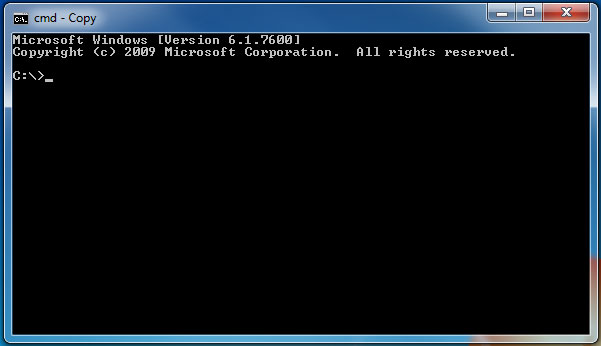 Command Line Client