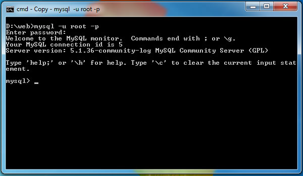 how to create a dump file in mysql command line